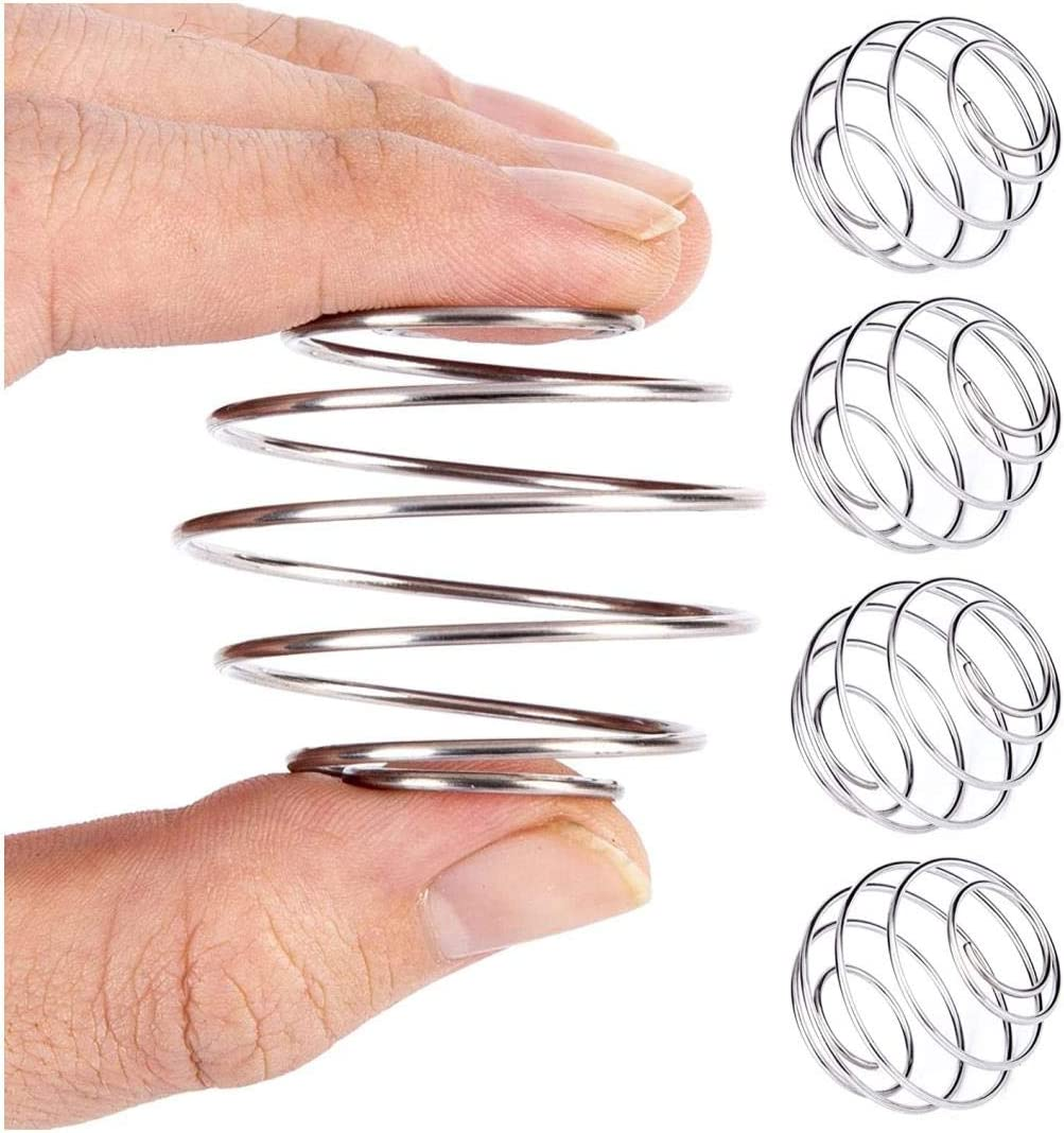 4 Pack Milkshake Protein Shaker Ball, Food Grade Stainless Steel Wire Mixer Mixing Ball, Whisk Ball for Drinking Bottle, Cup and Home Cooking