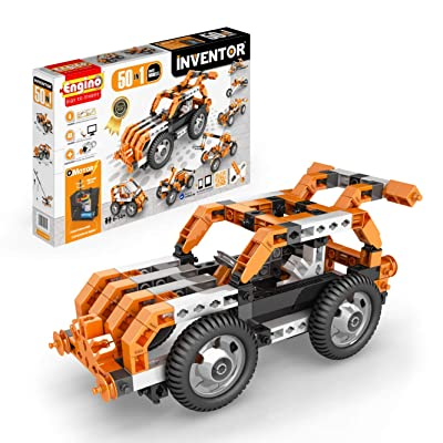 Engino Inventor - Build 50 Motorized Multi-Models Construction Kit: Toys & Games