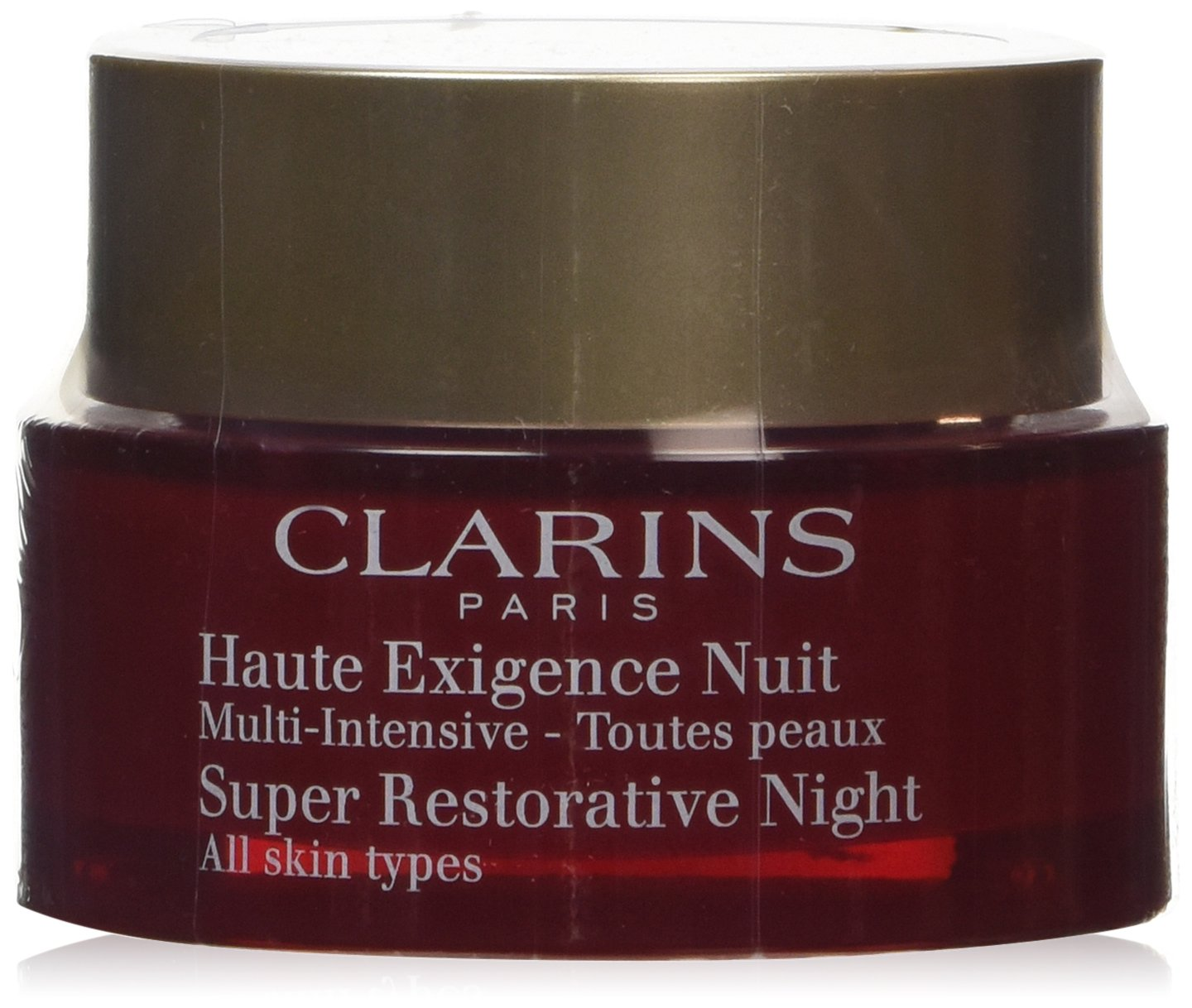 Clarins Super Restorative Night Cream for Unisex, 1.6 Ounce Universal Perfumes 3380811097107 CLA109710_-50ML