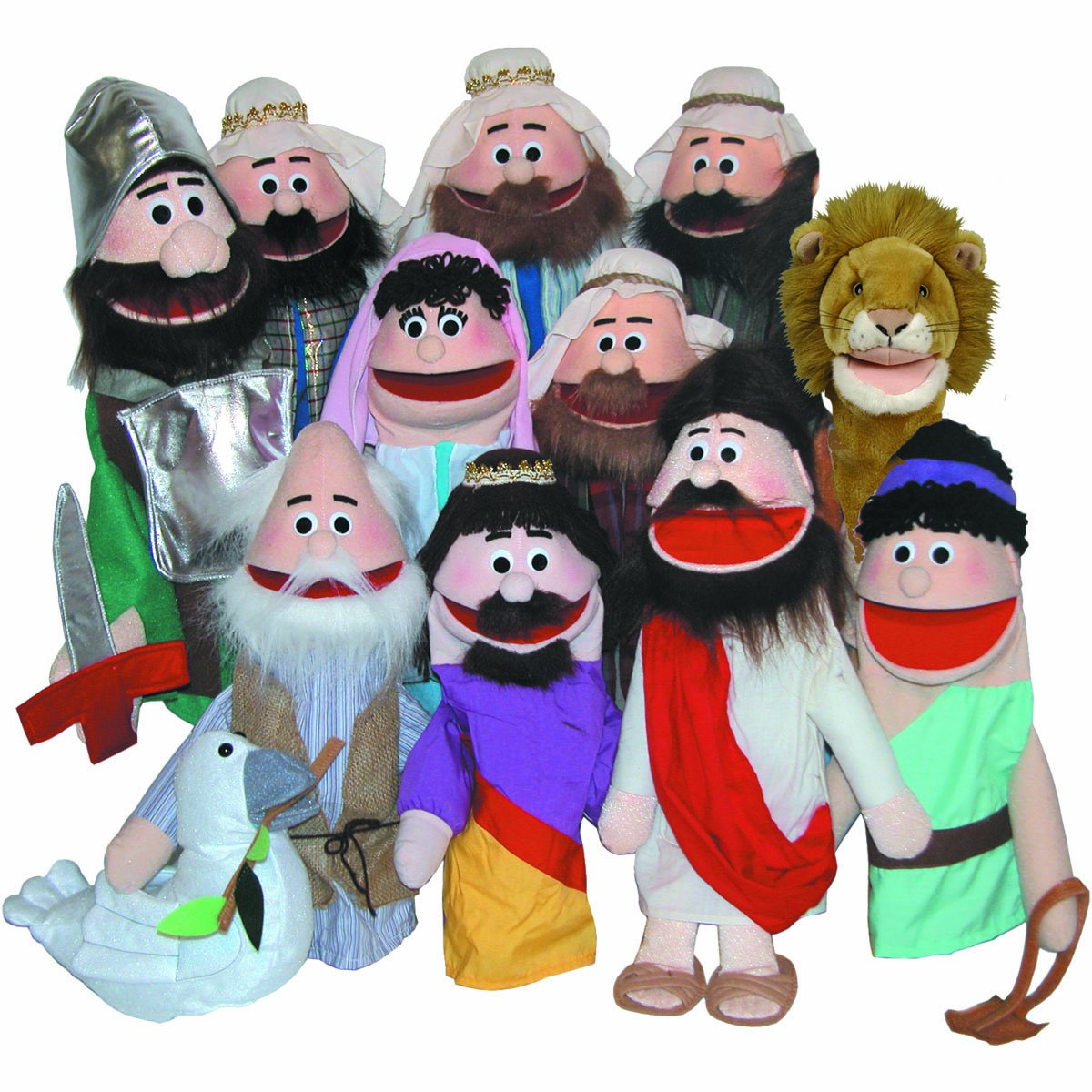 amazon com puppet partners puppet ministry set toys u0026 games