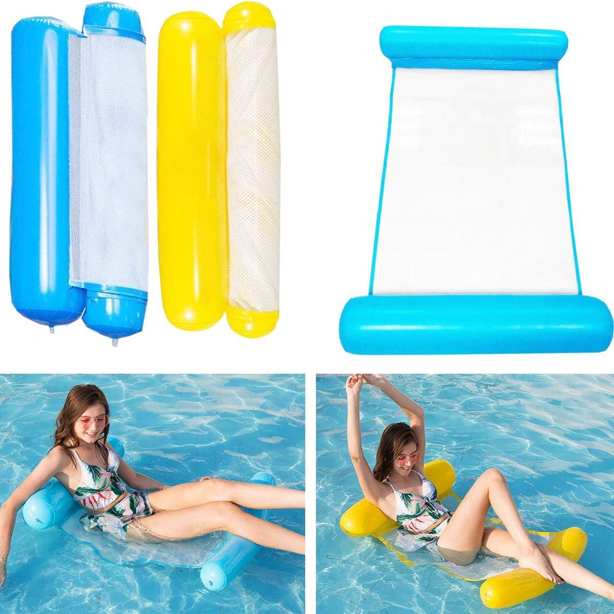 Spiagge da letto galleggianti ad acqua leggera 1PZ amaca d/'acqua per piscina