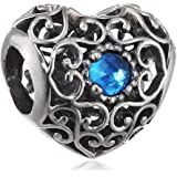 Pandora - Charms - Argent 925 - Cristal - 791784NLB