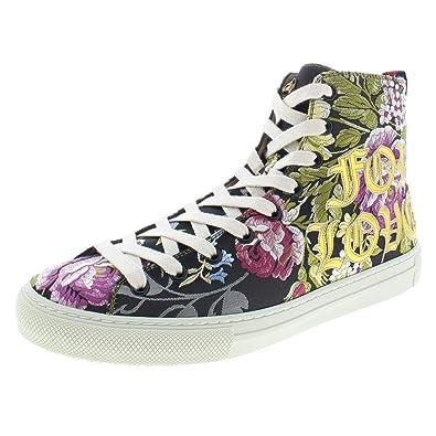 43ec23953ab7 Amazon.com  Gucci Womens Floral Logo Fashion Sneakers Black 37.5 ...