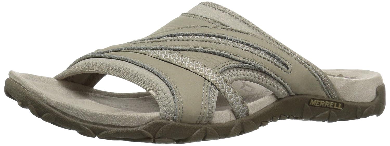 Taupe Merrell Womens Terran Slide II Sport Sandals