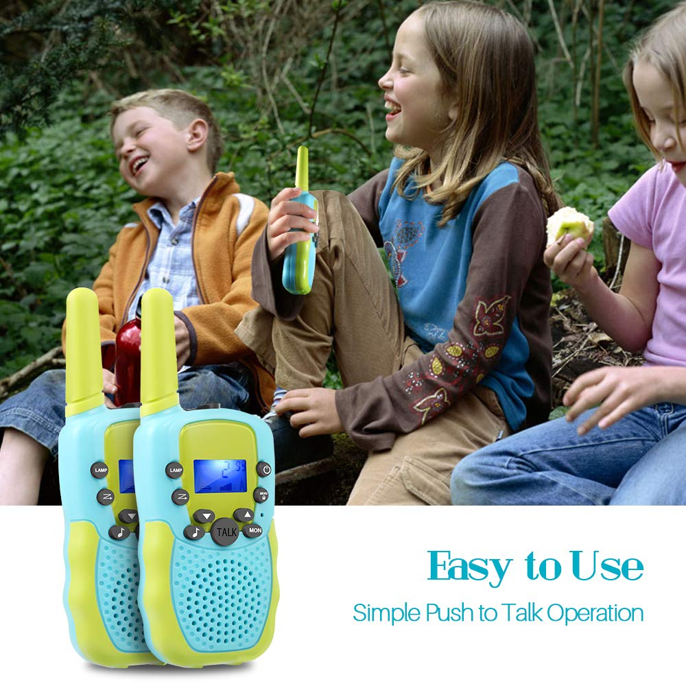 OMWay Toys for 4-5 Year Old Boys, Walkie Talkies for Boys Age 5-10,Outdoor Toys for Kids Toddlers,Kids Camping Gear,3-12 Year Old Boy Gifts,2 Way Radio,2 Miles,Birthday Gifts Ideas. by OMWay (Image #7)