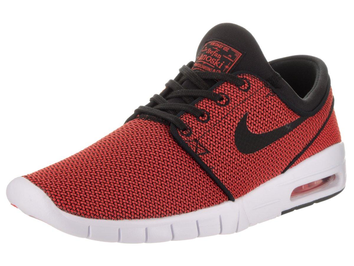 Nike SB Stefan Janoski Max Men's Shoes 10.5 D(M) US|Black/Black-max Orange