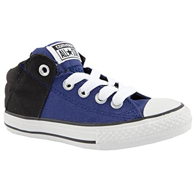 c80feb09be600b Boy Junior Converse All Star Axcel Blue Canvas Trainers Size 5 ...