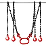 "Happybuy 10Ft Chain Sling 9/32"" X 10′ Engine Lift"