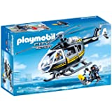 Playmobil - SWAT Helicopter and Diver - 9363