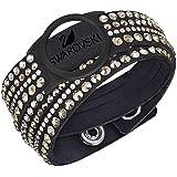 Swarovski Women's Bracelet Colorful Crystal Slake Deluxe Crystal Carrier Stainless Steel 36cm–5225821