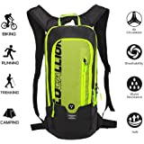 Local Lion 10L Zaino Idratazione Ultraleggero per Alpinismo Escursionismo Zainetto per Ciclismo Backpack di campeggio Sport Outdoor Unisex per Ciclismo