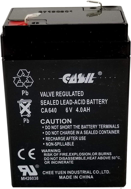 Casil CA640 6v 4ah Battery for CHAOYUAN CY640