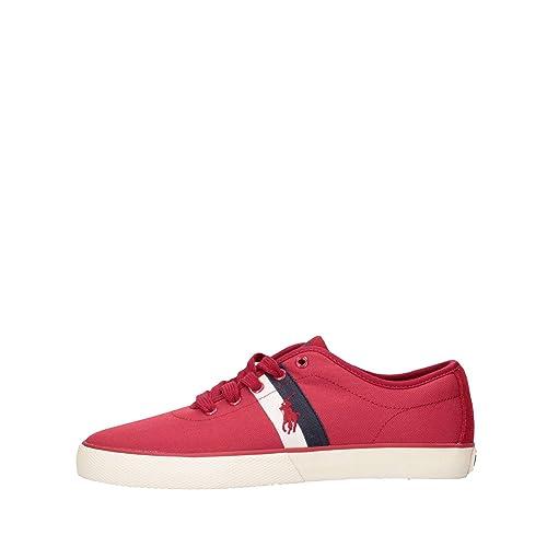 Polo Ralph Lauren A6714 HALFORD-NE Hombre Rojo 42: Amazon.es: Zapatos y complementos