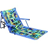 Leader Accessories Deluxe Portable Reclining Lounger Beach Chair