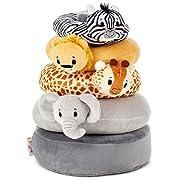 Hallmark Easter Itty Bitty Stuffed Animals Baby Toys Toddler Toys, Noah's Ark Stacker