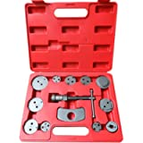 SUNROAD 13 Pcs Universal Disc Brake Caliper Wind Back Tool Kit Replacement for Disk Brake Pad Replacement