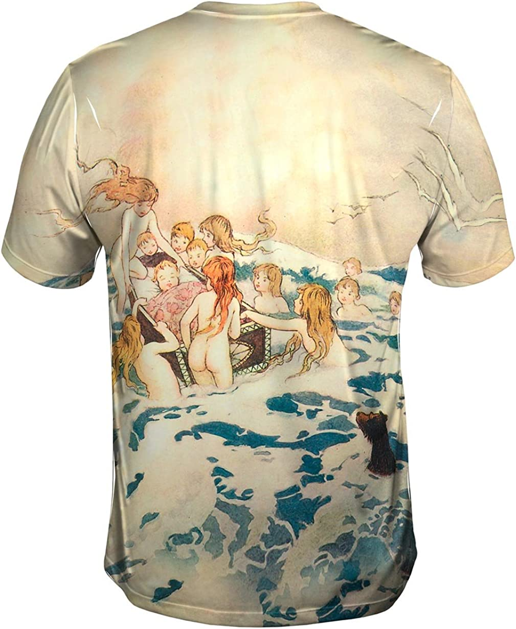 "New Kids Childrens Tshirt X Warwick Goble /""Mermaid Octopus Sailing/"" Yizzam"