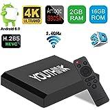 [2GB/16GB]Android 6.0 TV Box,AX5 Amlogic S905X Quad Core A53 2GB RAM+16GB ROM Support 4K 2K H.265 2.4G Wi-Fi Smart Media Player