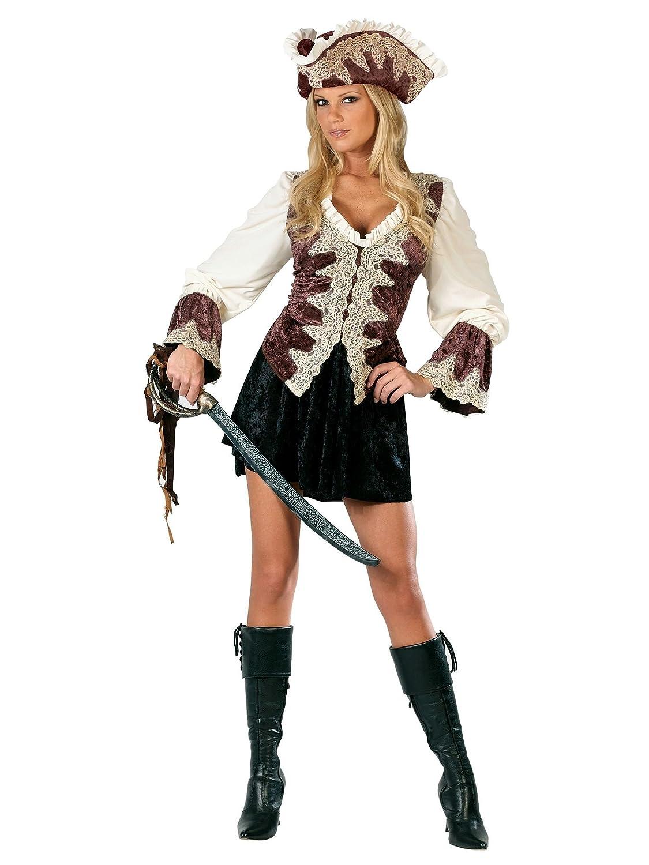 Amazon Com Fun World Women S Royal Lady Pirate Costume Clothing