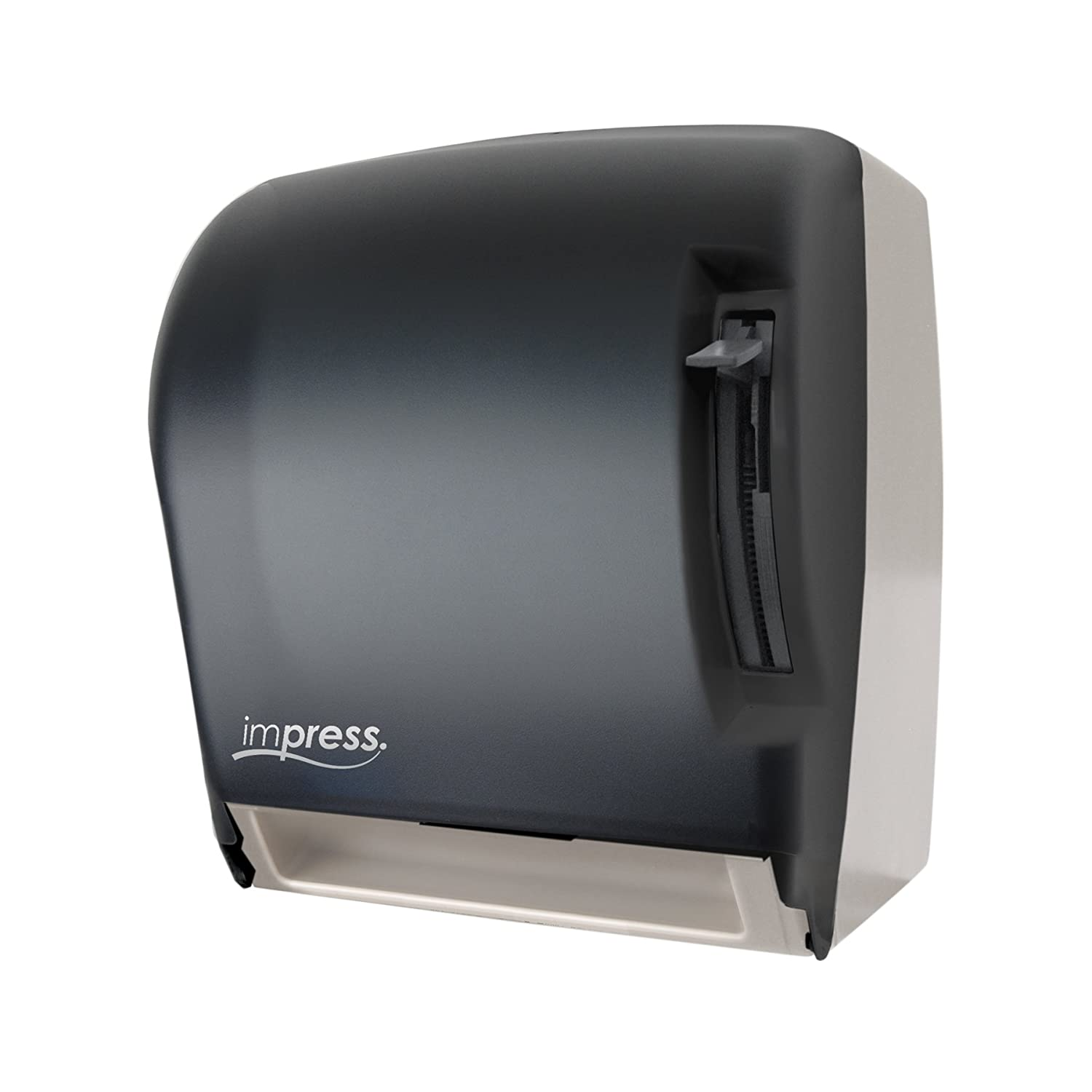 Palmer Fixture TD0220 01 Impress Lever Roll Towel Dispenser, Dark  Translucent: Amazon.com: Industrial U0026 Scientific