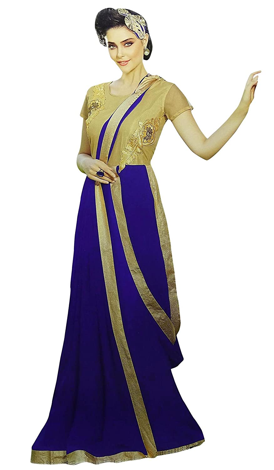 Indian Designer Gowns Party Wear Ethnic Bollywood Gown Dress for ...