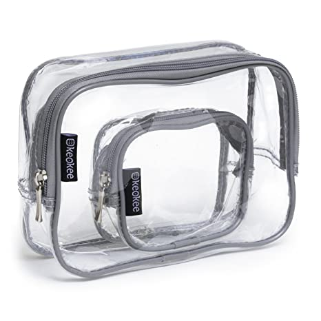 Review Keokee Clear Toiletry Bag