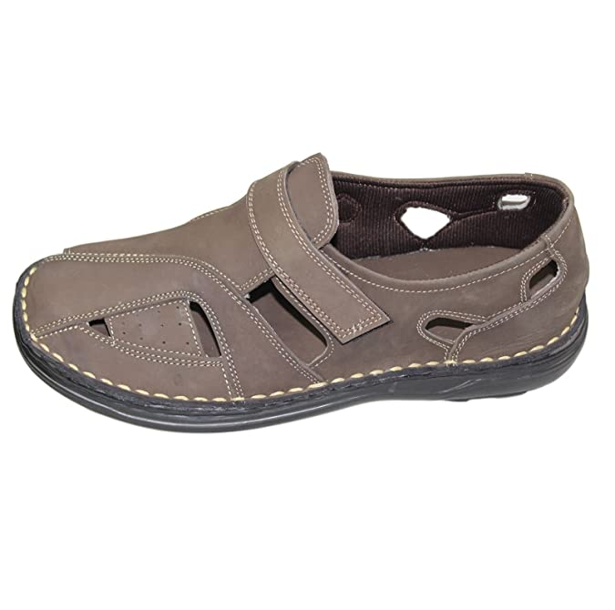 MENS BOYS SANDALS NUBUCK SUEDE LEATHER SUMMER FASHION SLIPPER MULES CASUAL  SHOES: Amazon.co.uk: Shoes & Bags