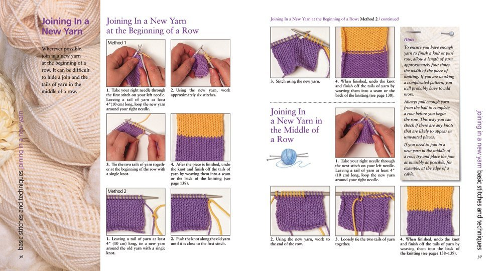 A Z Of Knitting The Ultimate Guide For The Beginner To Advanced