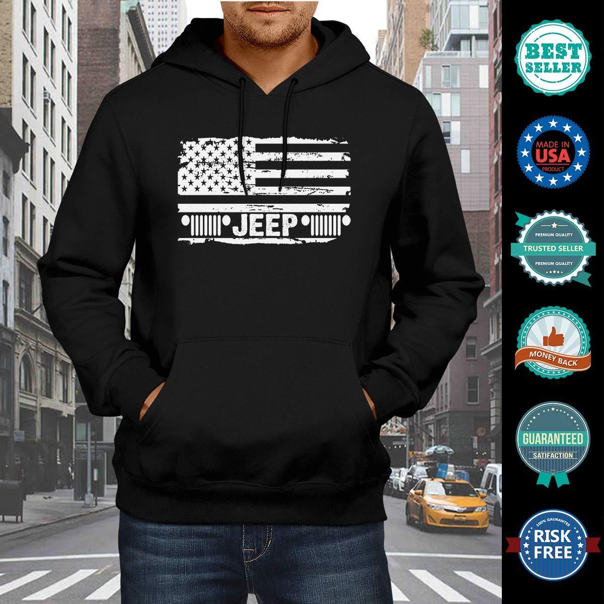 Coincard Hoodies American Flag Drivers Men Women Hoodies Gift