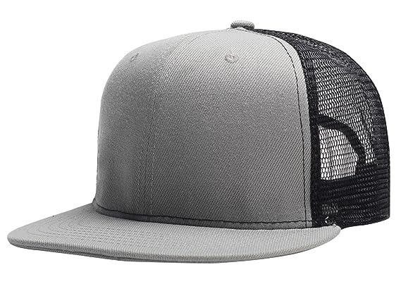 Aieoe Gorra de Béisbol Unisex Sombrero de Visera Plano Ajustable Snapback de Moda para Hombre mujer qMVt1a9ki