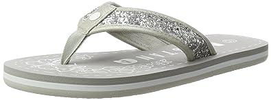 Mustang Damen 1243-701 Zehentrenner, Silber (21 Silber), 42 EU