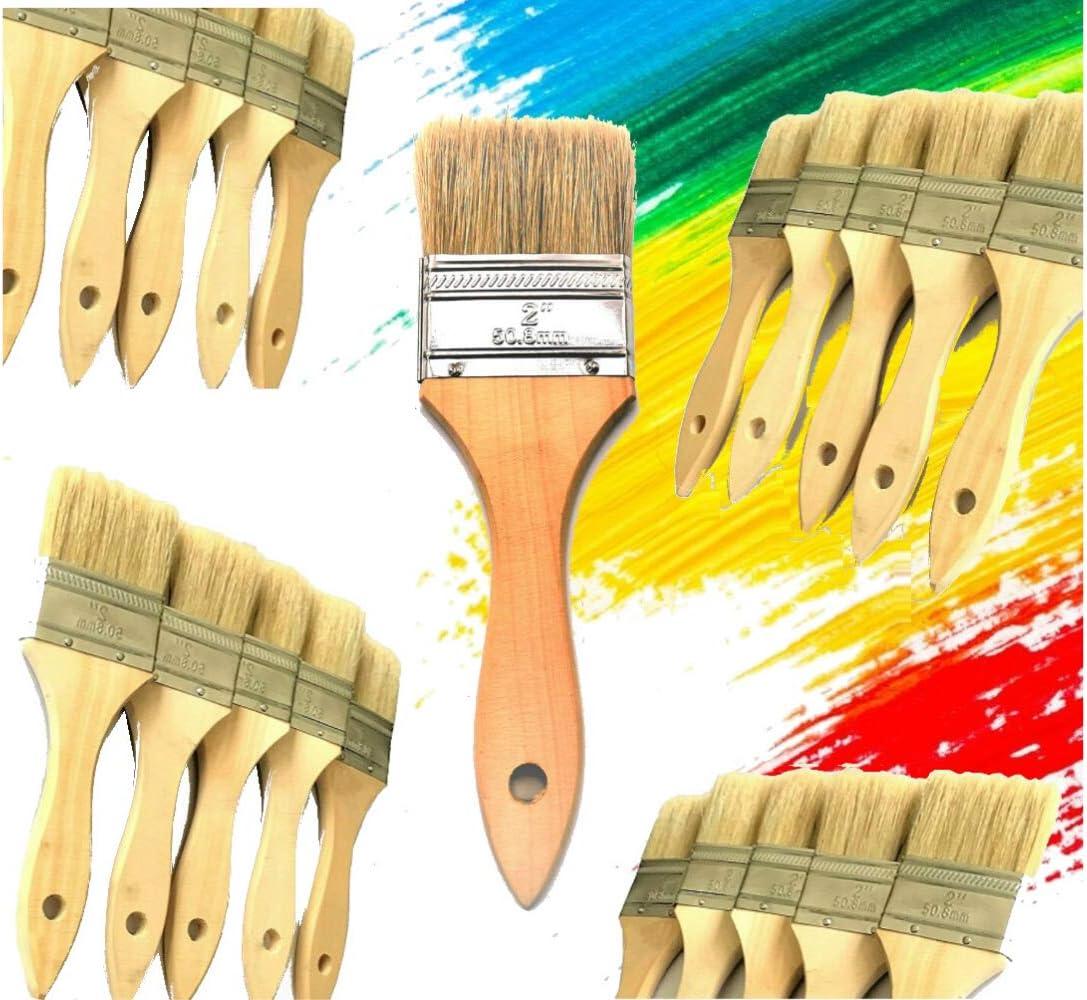 Chip Brushes Bulk 100 Pc of 1 Brush Perfect for Adhesives Paint Touchups MeritPro
