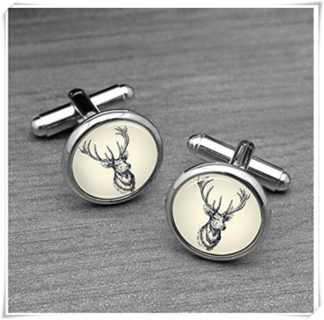 Vintage Deer Cufflinks CX28