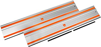 WEN CT9502 100-Inch Track Saw Track Guide Rail and Adapters