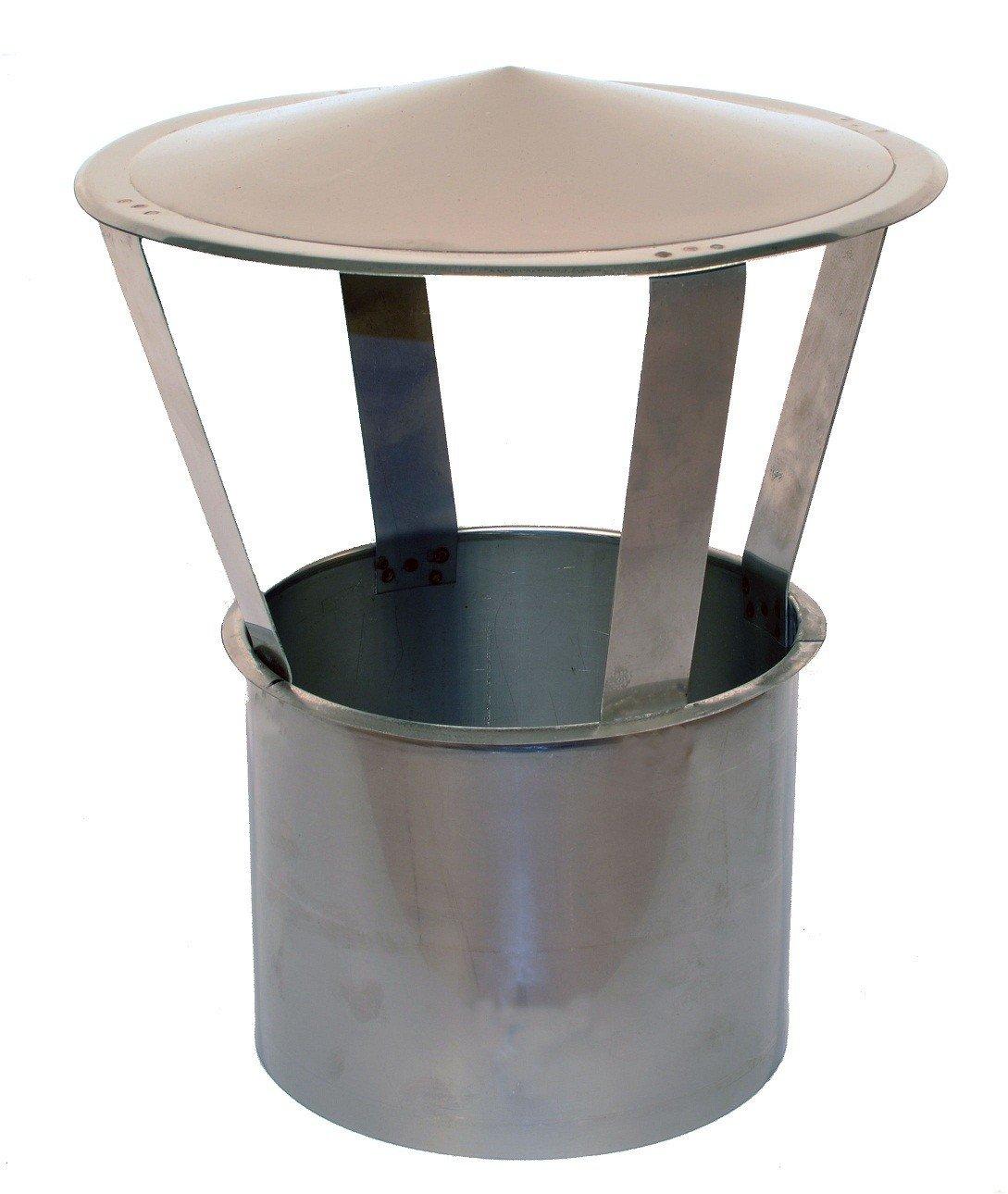 Kaminabdeckung Einschub rund DN 150mm Regenhaube Kaminhaube