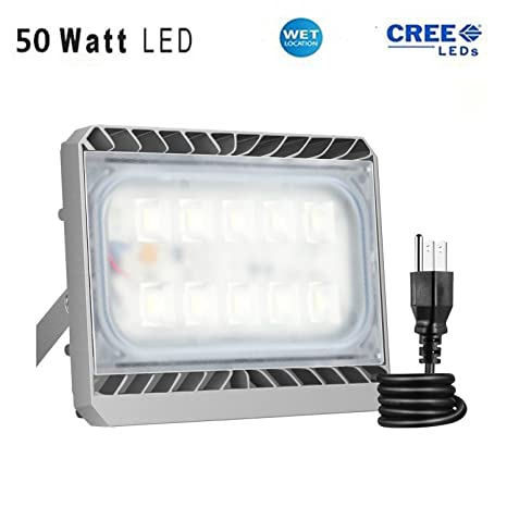 Solla 50w cree led flood light outdoor security lights 4500lm solla 50w cree led flood light outdoor security lights 4500lm daylight white 6000k aloadofball Images