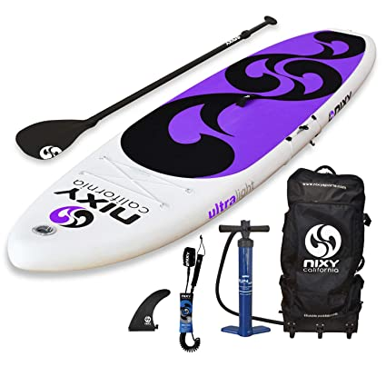 NIXY Beginners and Yoga Inflatable Stand Up Paddle Board ...