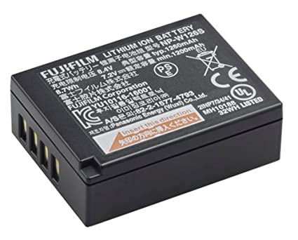amazon com fujifilm rechargeable lithium ion battery np w126s