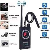 Anti Spy RF Detector - Camera Detector - Wireless Bug Detector Signal - Hidden Camera Detector - GSM Listening Device Finder Radar Radio Scanner Wireless Signal Alarm