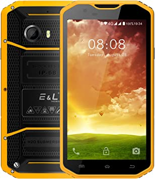 Robusto Teléfono Móvil Android 6.0 Rugged Smartphone Impermeable ...