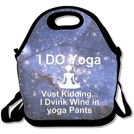 I Do Yoga - Bolsas de almuerzo de neopreno grandes y gruesas ...