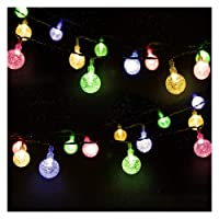 Mr.Twinklelight 30 4.5M Waterproof Festival LED Celebrate Wedding/Birthday/Christmas Party Warm White Solar String Lights, 3.6 W, 30led [Energy Class A++]
