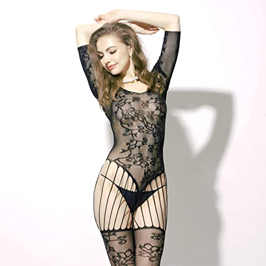 22b75edd18f Gossip Night USA Brand Women Hot Girl Sexy Lingerie Crotchless Fishnet  Bodystocking Mesh Chemise Night Dress