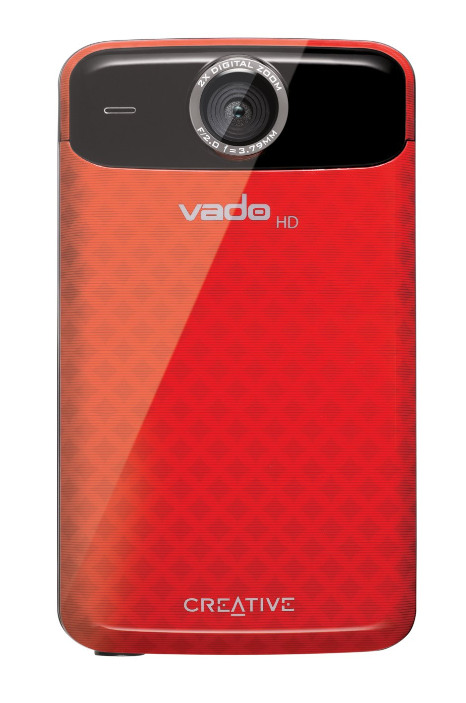 Amazon.com : Creative Labs Vado VF0624-RD HD Pocket Video Camcorder 3rd  Generation, 120 Minutes (Red) - NEWEST MODEL (Discontinued by Manufacturer)  : Camera ...