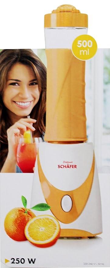 Boina Smoothie-Maker De colour naranja y 2 GO con vaso de mini ...