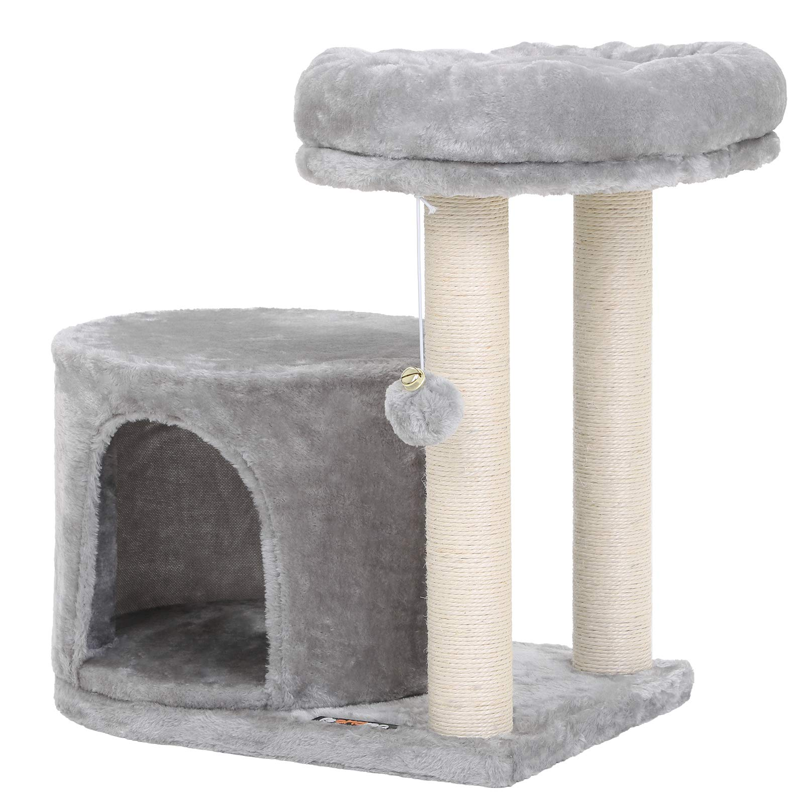 FEANDREA Cat Tree with Sisal-Covered Scratching Posts UPCT50W by FEANDREA