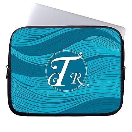 Ojngdafs Kanagawa Wave Designs Laptop Computer Sleeve 10