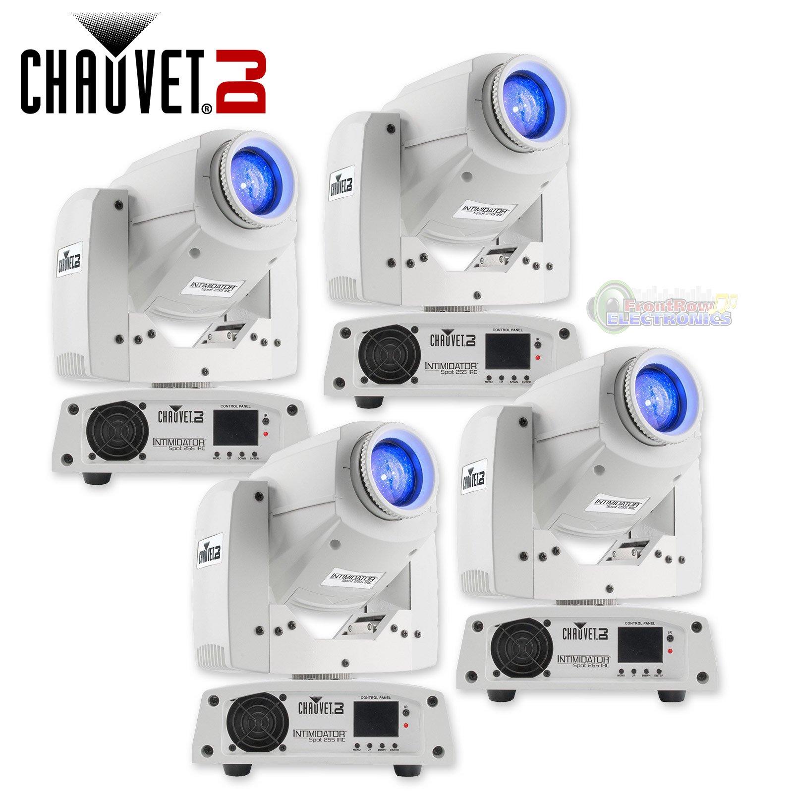 Chauvet DJ Intimidator Spot 255 IRC 60 W LED Moving Yoke Head DMX Light (4 Pack)
