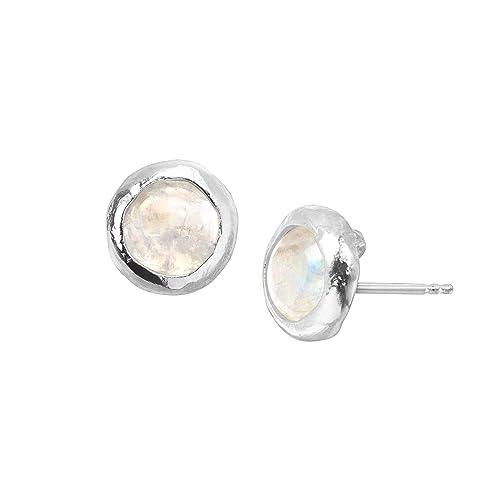 NOVICA Tiger s Eye .925 Sterling Silver Brown and Green Leather Bone Dangle Earrings Aurora Leaves