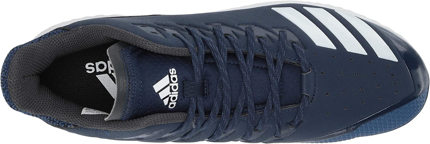 adidas Men's Icon Bounce Baseball Cleats Collegiate Navy/White/Carbon